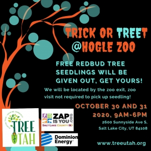 """Trick or Treet"" - Tree Give Away"